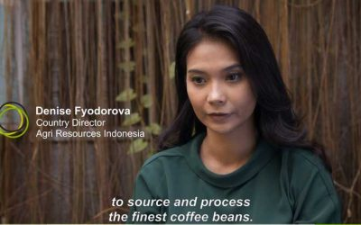 A beautiful presentation of our Toraja coffee by Agri Resources Indonesia