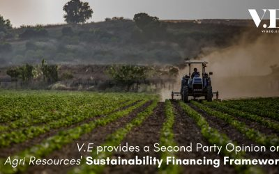 V.E provides SPO for Agri Resources Group's Sustainability Financing Framework