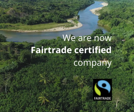 Our vanilla is now Fairtrade certified